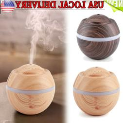 ultrasonic air purifier humidifier led 7 colour