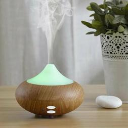 Ultrasonic Air Purifier Humidifier LED 7 Colour Aroma Essent