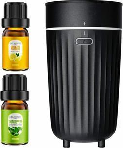 Ultrasonic Car Essential Oil Diffuser Air Purifier Mini Home