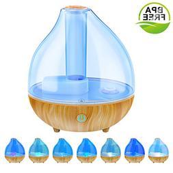 ALIWELL Ultrasonic Cool Mist Humidifier, 3L Air Humidifiers