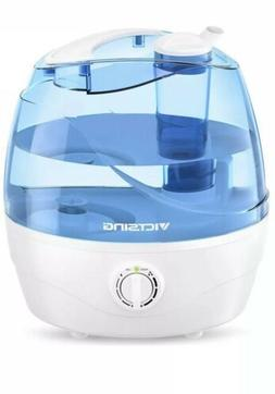 VicTsing Ultrasonic Cool Mist Auto Shut-Off Humidifier - Blu