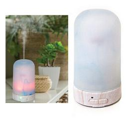 Ultrasonic Essential Oil Diffuser Aromatherapy Cool Mist Gla