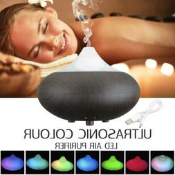 Ultrasonic Essential Oil Diffuser Mist Humidifier with 7 LED