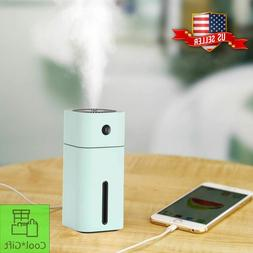 Ultrasonic Humidifier 180ml Small Living Room Portable Cool