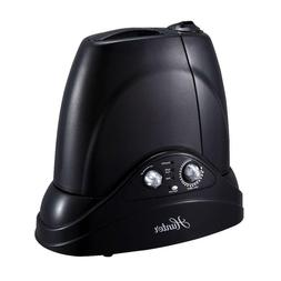Ultrasonic Humidifier Black Dual Cool Warm Mist Water Level