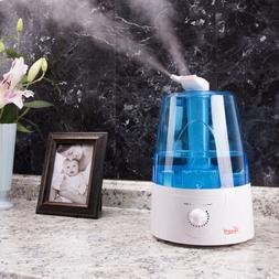 5L Home Ultrasonic Humidifier Cool Mist Dual Nozzles Safe Au