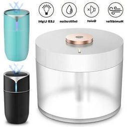 Ultrasonic Humidifier Cool Mist Air Purifier USB LED Light M