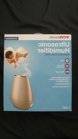 CVS Health Ultrasonic Humidifier Soothing Cool Mist Room Siz