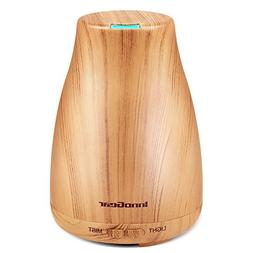 InnoGear Upgraded Wood Grain Aromatherapy Essential Oil Diff