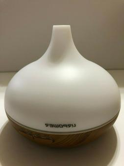 URPOWER Aromatherapy Essential Oil Diffuser 300ml Wood Grain