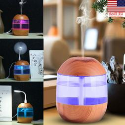 us portable usb air humidifier purifier aroma