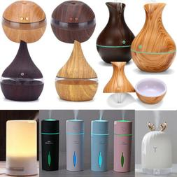 US Ultrasonic Essential Aroma Diffuser Mist Humidifier Purif