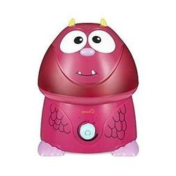 Crane USA Filter-Free Cool Mist Humidifiers for Kids, Pink M