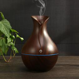 USA LED Ultrasonic Aroma Humidifier Essential Oil Diffuser A