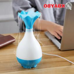 USB Air Humidifier Ultrasonic Diffuser with LED Light Mist S