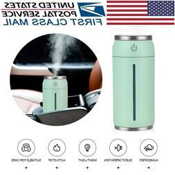 USB Car Mist Humidifier Air Purifier Refresher w/ USB Fans/L