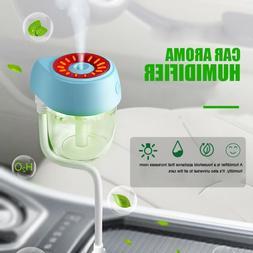 USB Mini Car Humidifier Air Purifier Freshener Aroma Essenti