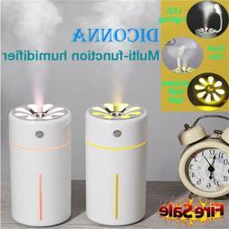 USB Powered Car Air Humidifier Diffuser Ultrasonic Aroma Mis