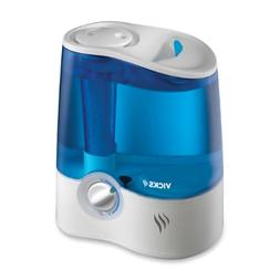 Vicks Ultrasonic Humidifier Cool Mist Humidifier to Help Rel