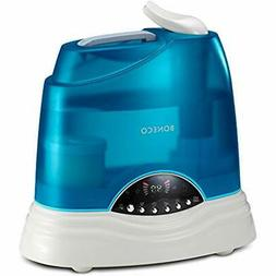 "Warm Cool Mist Ultrasonic Humidifier 7135 Home "" Kitchen"