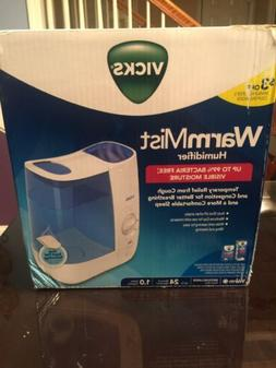 Vicks Warm Moisture Humidifier 1.0 gallon VWM845- Brand New/