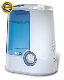 "Vicks Warm Moisture Humidifier Visible Vapor 2"" Output Setti"