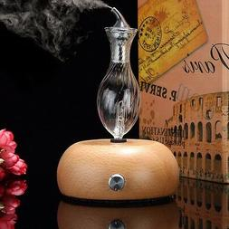 Wood & Glass Aromatherapy Essential Oils Diffuser Air Aroma