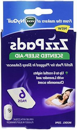 ZzzQuil Plugged in Sleep Enhancer Refill Pads - 6pk ZSP6
